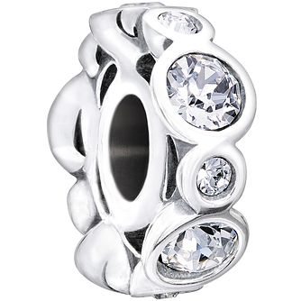 Chamilia sterling silver crystal April birthstone charm - Product number 1479474