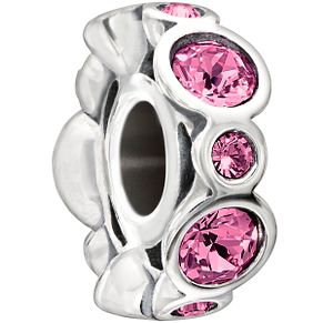 Chamilia sterling silver crystal October birthstone bead - Product number 1479539