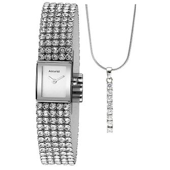 Accurist Ladies' Swarovski Elements Watch & Pendant Set - Product number 1479687