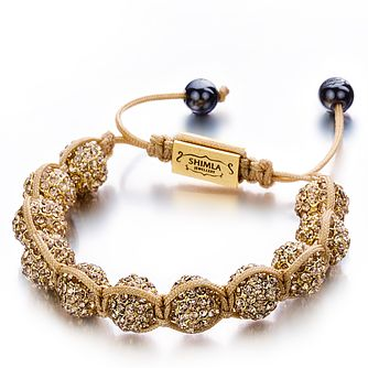 Shimla Luxury Originals Gold Czech Crystal Bracelet - Product number 1484346