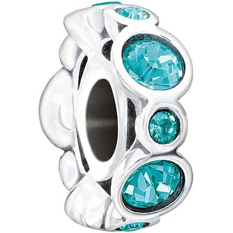 Chamilia Sterling Silver Crystal December Birthstone Bead - Product number 1485415