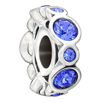 Chamilia Sterling Silver Crystal September Birthstone Charm - Product number 1485644