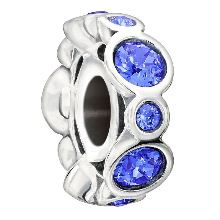 Chamilia Sterling Silver Crystal September Birthstone Bead - Product number 1485644