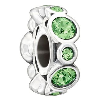 Chamilia Sterling Silver Crystal August Birthstone Charm - Product number 1485679