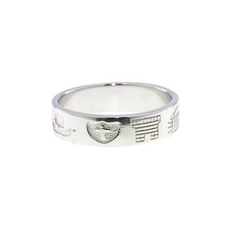 Cailin Sterling Silver History Ring Size P - Product number 1490494