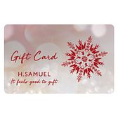 A Merry Christmas designed gift card