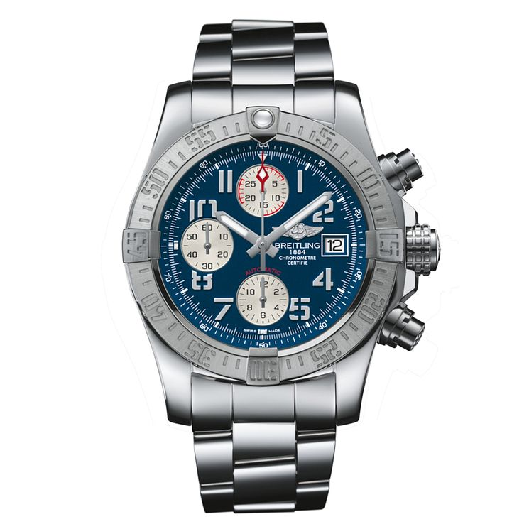 Breitling Avenger II men's stainless steel chronograph watch - Product number 1590871