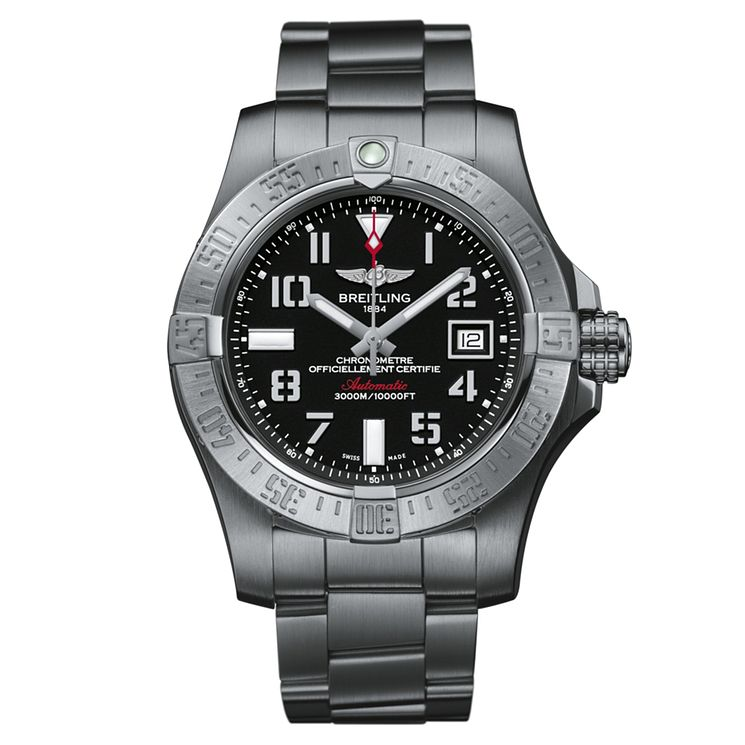 Breitling Avenger II men's stainless steel bracelet watch - Product number 1591584