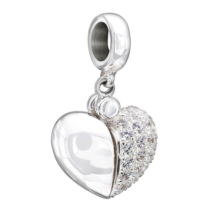 Chamilia Silver & Swarovski Zirconia Secret Message Bead - Product number 1599771