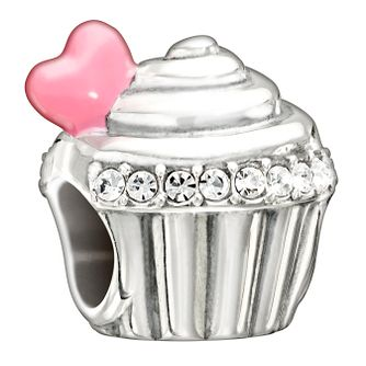 Chamilia Love Is Sweet Enamel & Crystal Charm - Product number 1599828