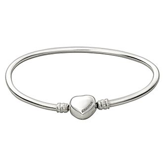"Chamilia Heart Snap Bangle Large 8.2"" - Product number 1600362"