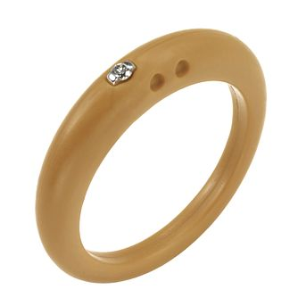 Due Punti diamond sandstone silicone ring size small - Product number 1600508