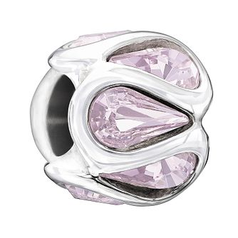 Chamilia Embrace light amethyst Swarovski crystal charm - Product number 1605046