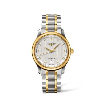Longines Master Collection men's two colour bracelet watch - Product number 1607898