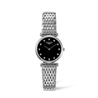 Longines La Grande Classique Ladies' Diamond Bracelet Watch - Product number 1607936