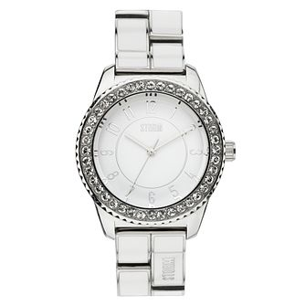 STORM Neona Ladies' Stainless Steel & Enamel Bracelet Watch - Product number 1630431
