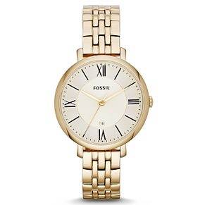 Fossil Ladies' Gold-Plated Bracelet Watch - Product number 1634178