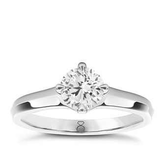 The Diamond Story 18ct White Gold 1/4ct Diamond Ring - Product number 1660578