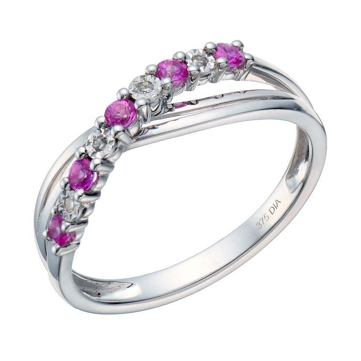 Sapphire Tanzanite Rings