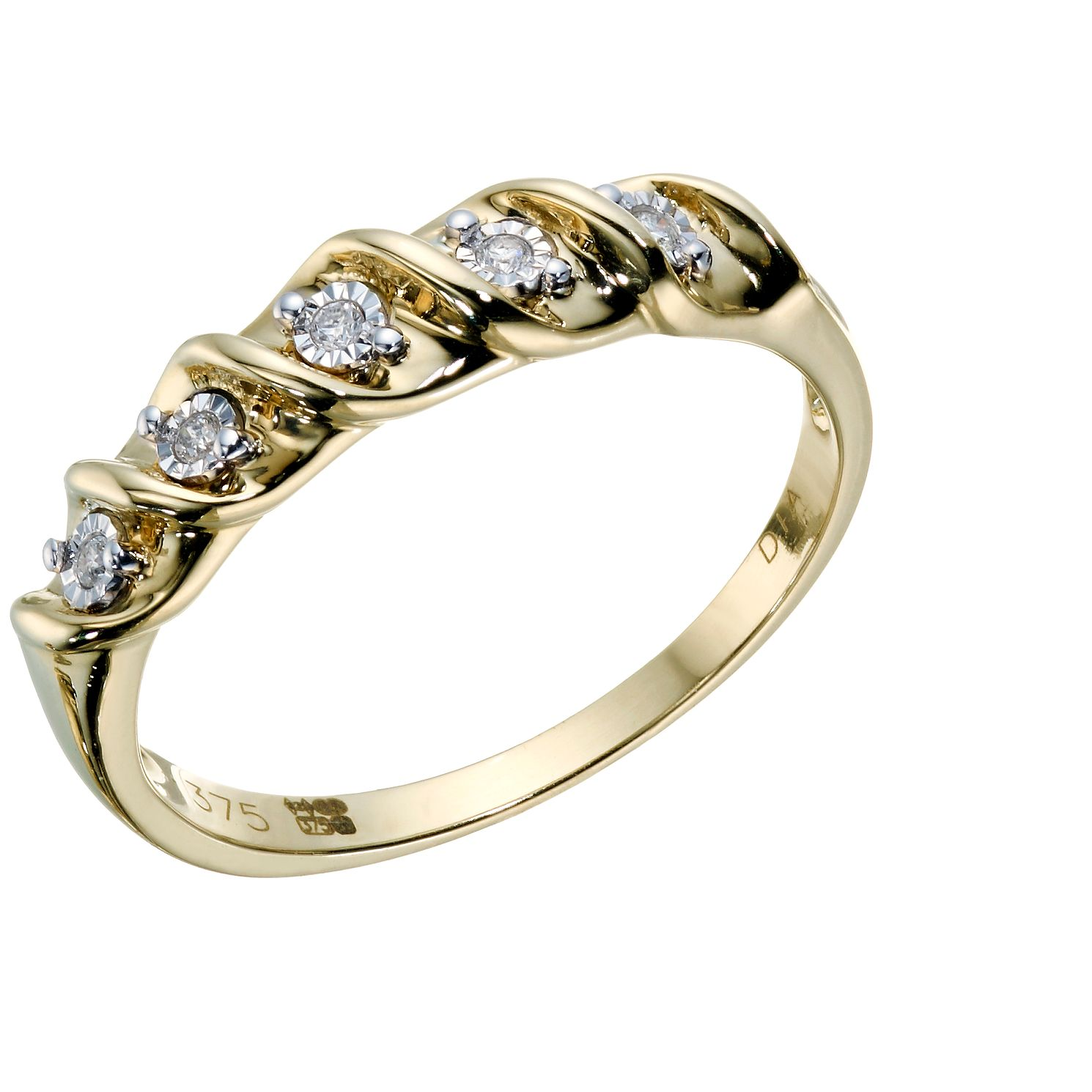 rings anniversary gold ring jewellery in diamond products vintage