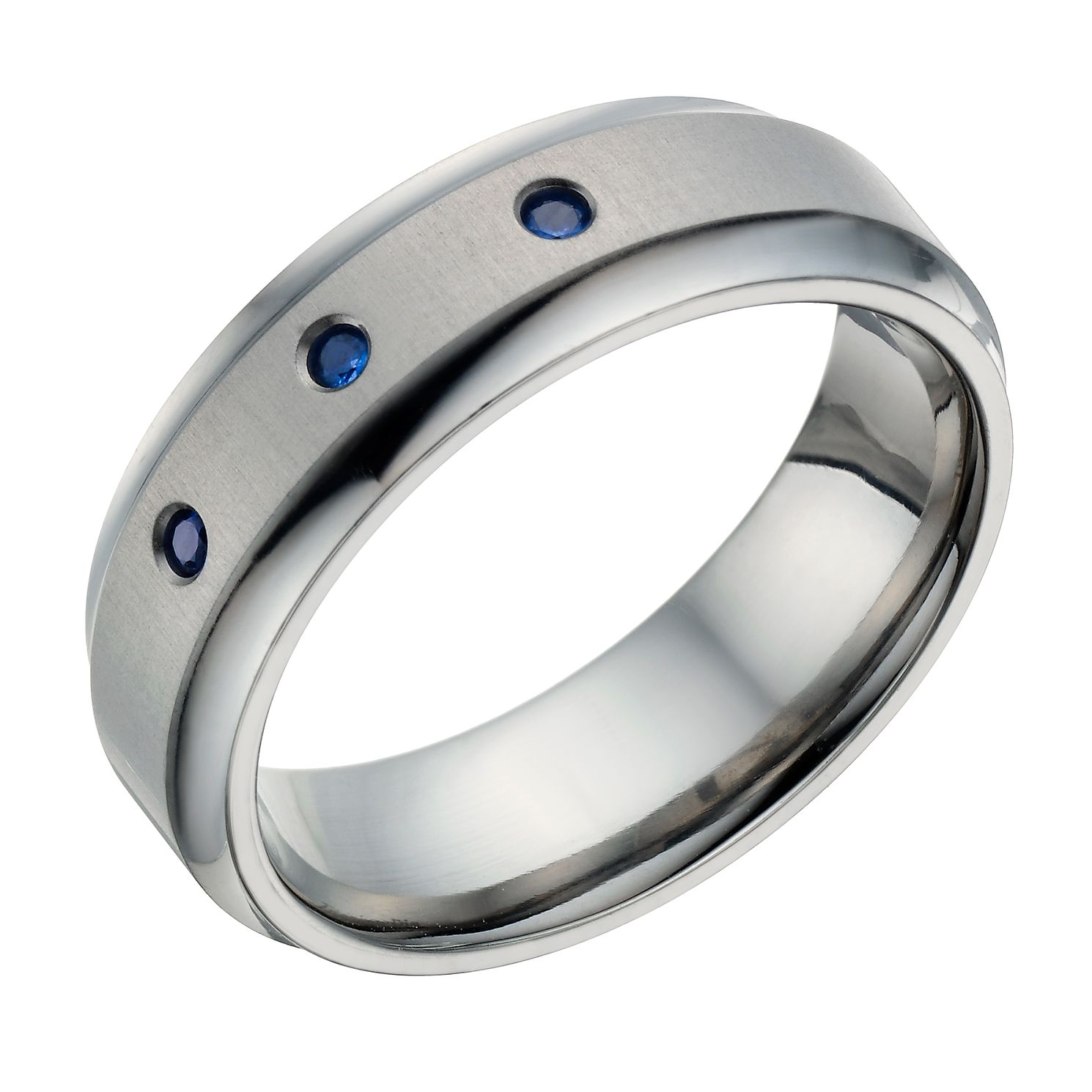 titanium p platinum band ring bands cz engraved hand wedding stone