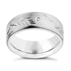 Titanium Patterned Ring - Product number 1705652