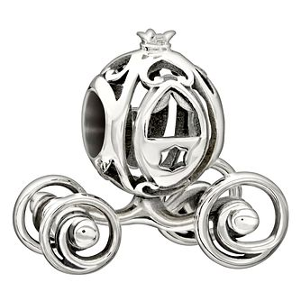 Chamilia sterling silver Disney 'Cinderella's Coach' bead - Product number 1751077
