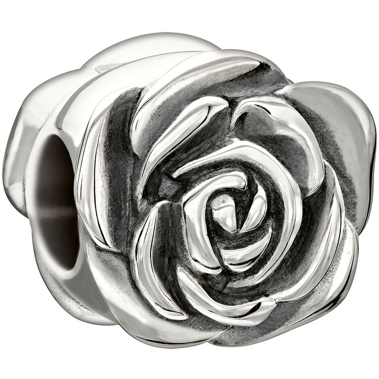 Chamilia sterling silver 'Garden Club June Rose' bead - Product number 1751093