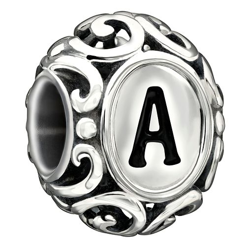 Chamilia sterling silver letter A bead - Product number 1751190