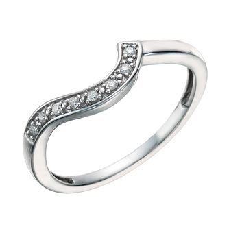 Argentium Silver & Diamond Perfect Fit Eternity Ring - Product number 1760394