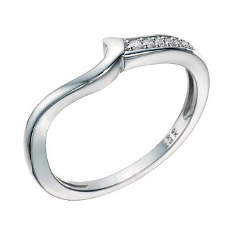 9ct White Gold Diamond Perfect Fit Eternity Ring - Product number 1760645
