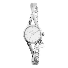 Radley Ladies' Stainless Steel Crossover Half Bangle Watch - Product number 1775197