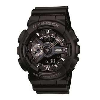 G-Shock Men's Black Rubber Strap Watch - Product number 1781294