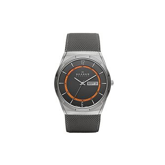 Skagen Aktiv Men's Stainless Steel Mesh Bracelet Watch - Product number 1845136
