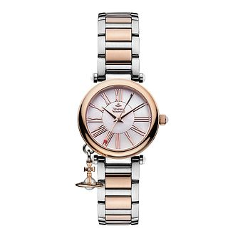 Vivienne Westwood ladies' two colour bracelet watch - Product number 1846337
