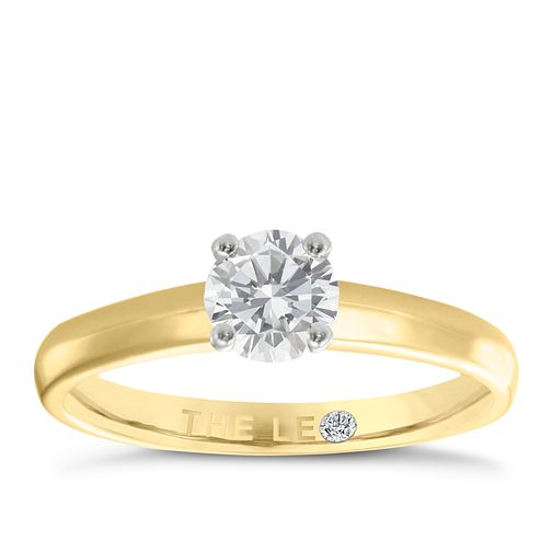 Leo Diamond 18ct yellow & white gold 0.50ct I-I1 ring - Product number 1930281