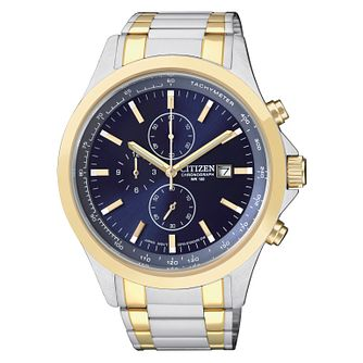 Citizen Men's Two Colour Bracelet Watch - Product number 1942336