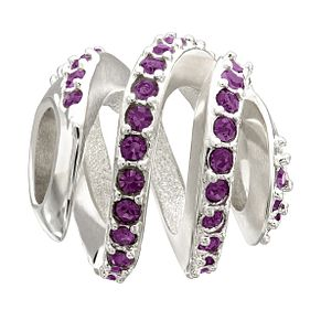 Chamilia Modern Glamour Purple Swarovski Element Bead - Product number 1947729
