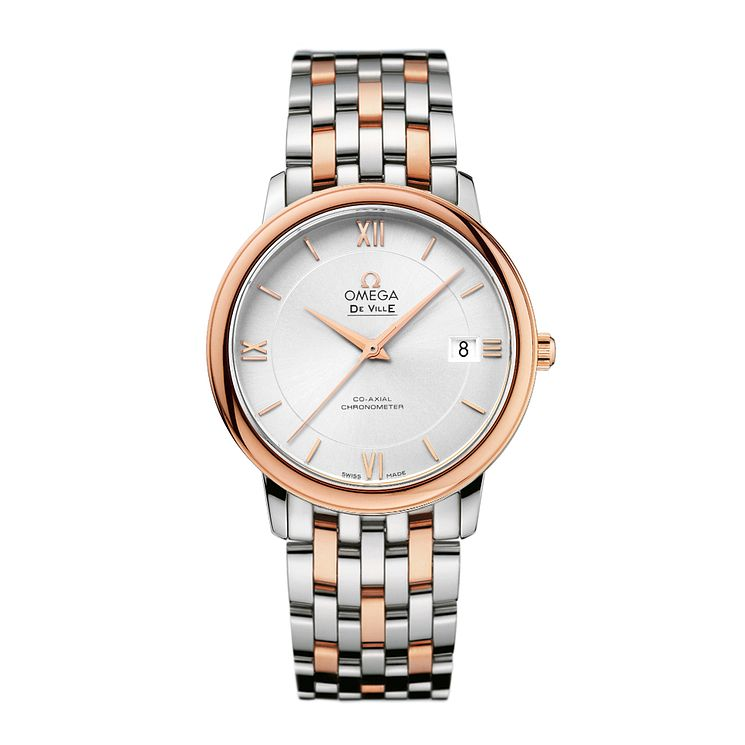 Omega De Ville Prestige men's two colour bracelet watch - Product number 1954520