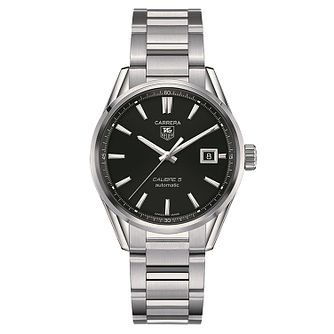 TAG Heuer Carrera Men's Stainless Steel Bracelet Watch - Product number 1958097