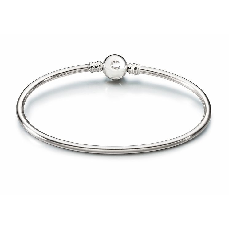 Chamilia Sterling Silver Brilliance Large Bangle - Product number 1962450