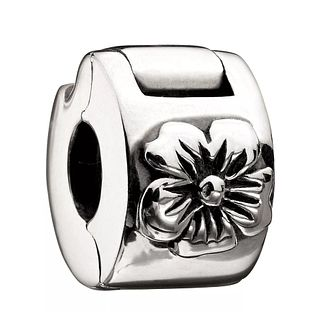 Chamilia Sterling Silver Hibiscus Flower Lock - Product number 1986732