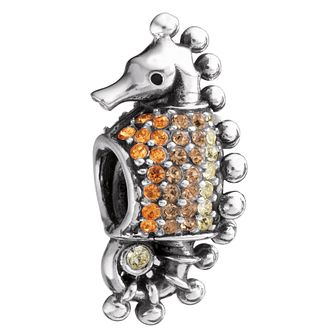 Chamilia Sterling Silver Swarovski Crystal Seahorse Charm - Product number 1986767
