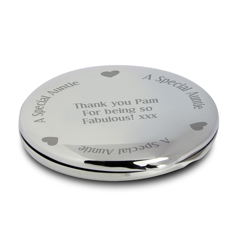 Engraved 'Special Family Member' Compact Mirror - Product number 1996428