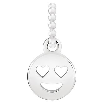 Chamilia Sterling Silver Smiley Face Emoticon Charm - Product number 2008203