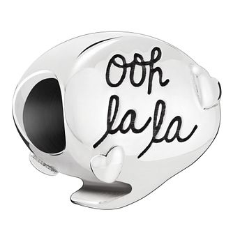 Chamilia Sterling Silver Say Ooh La La Charm - Product number 2008335