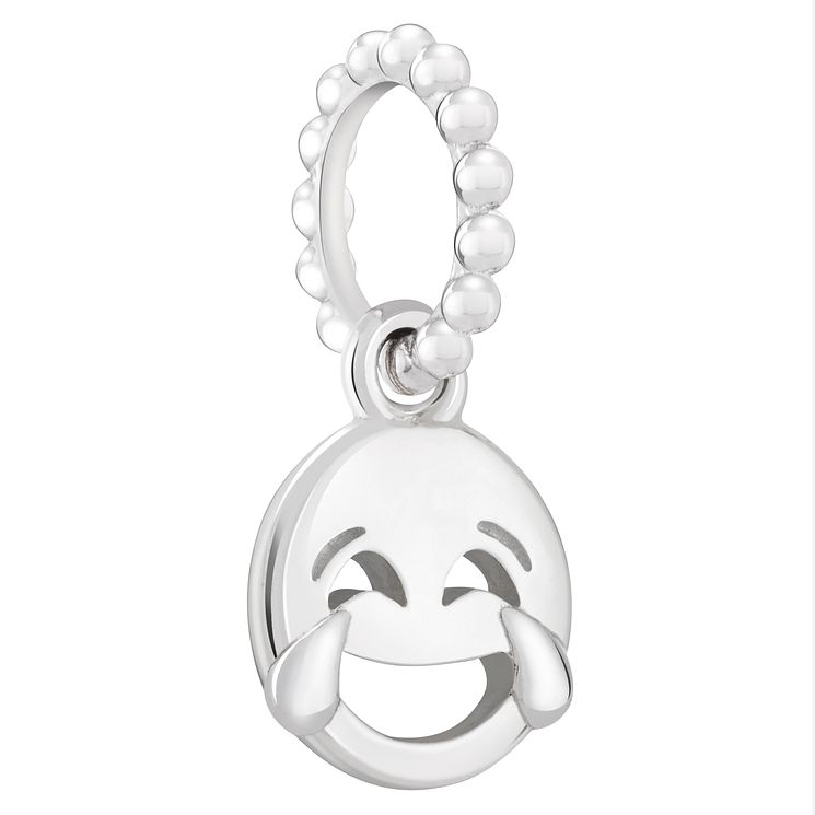 Chamilia Sterling Silver Crying from Laughter Emoticon Charm - Product number 2008351