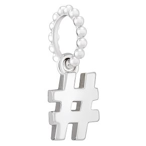 Chamilia Sterling Silver Hashtag Emoticon Charm - Product number 2008467