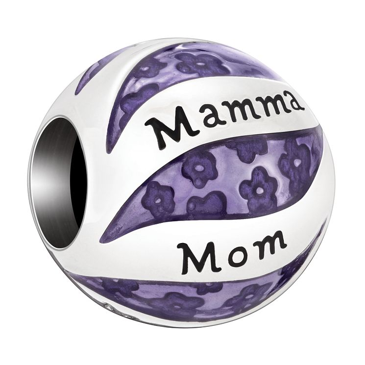 Chamilia Sterling Silver Mum Languages Bead - Product number 2009390
