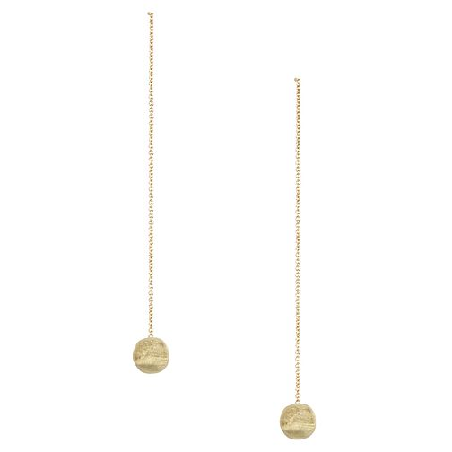 Marco Bicego Delicati 18ct gold drop earrings - Product number 2009749